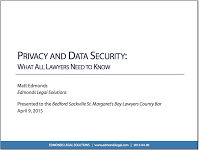 Privacy and Data Security: What All Lawyers Need to Know